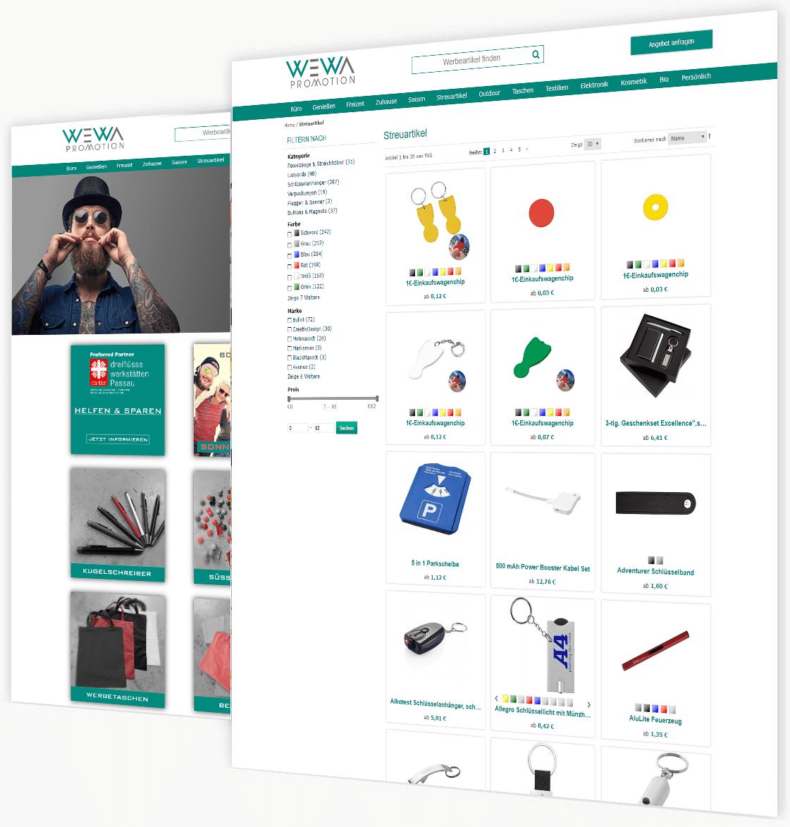 Der Magento Webshop Speziell Für Die Werbeartikelbranche